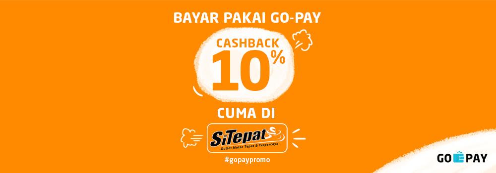 Promo SiTepat September 2018: Cashback 10% Semua Item