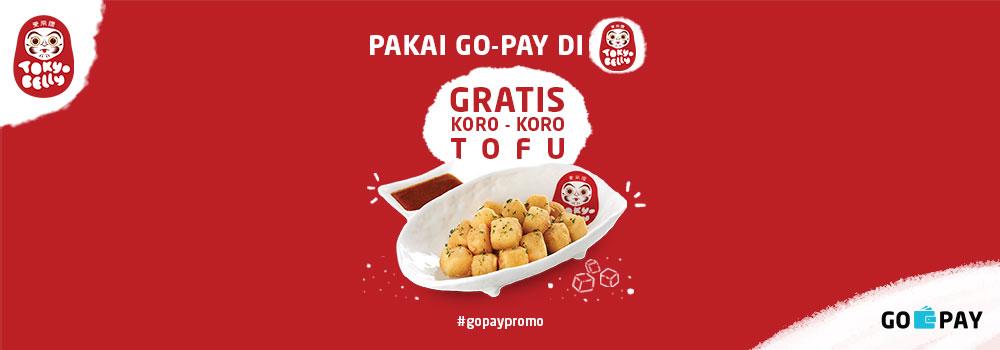 Promo Tokyo Belly Desember 2018: Gratis Koro-Koro Tofu