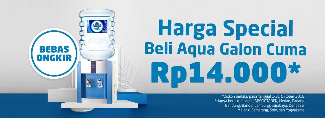 Beli Aqua Galon Di Go Daily Cuma Rp14 000 Jangan Kehabisan Go