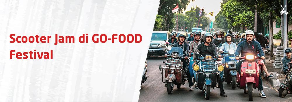 Scooter Jam Meriahkan Customer Gathering di GO-FOOD Festival