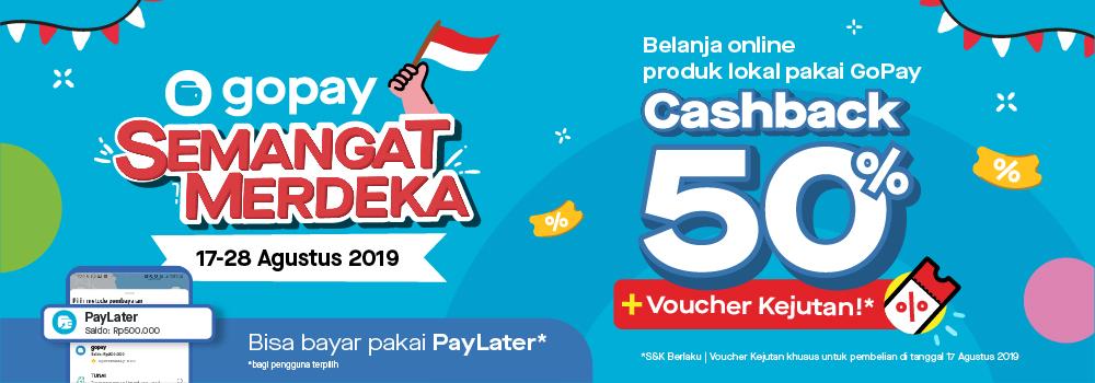 Promo Belanja Online Agustus 2019: Voucher Cashback, Cashback, dan Diskon