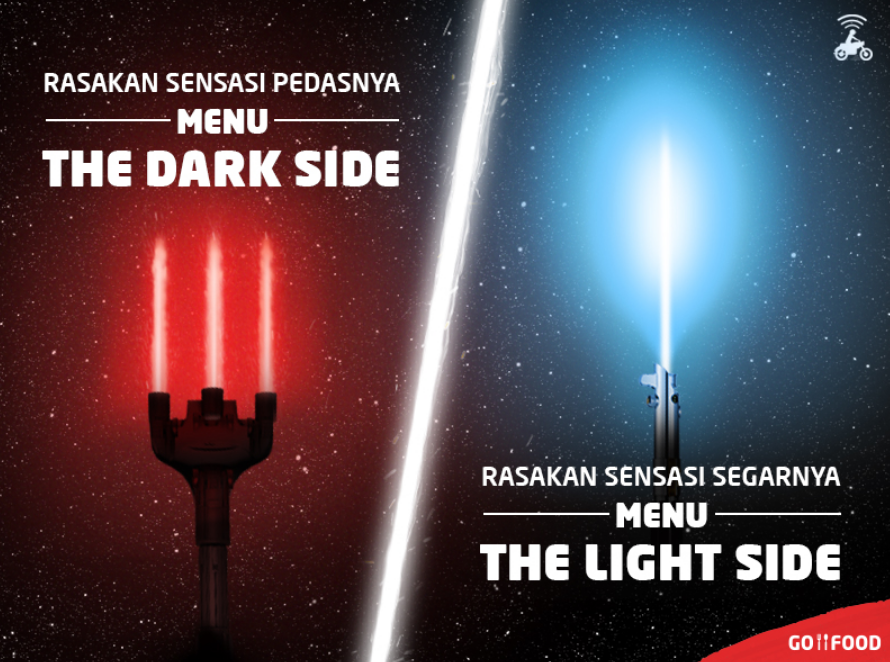 Temukan Serunya Kurasi Konten The Dark Side dan The Light Side di GO-FOOD