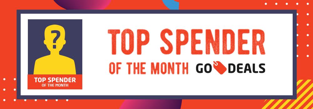 Top Spender Februari 2019: Selamat Kepada Pemenang!