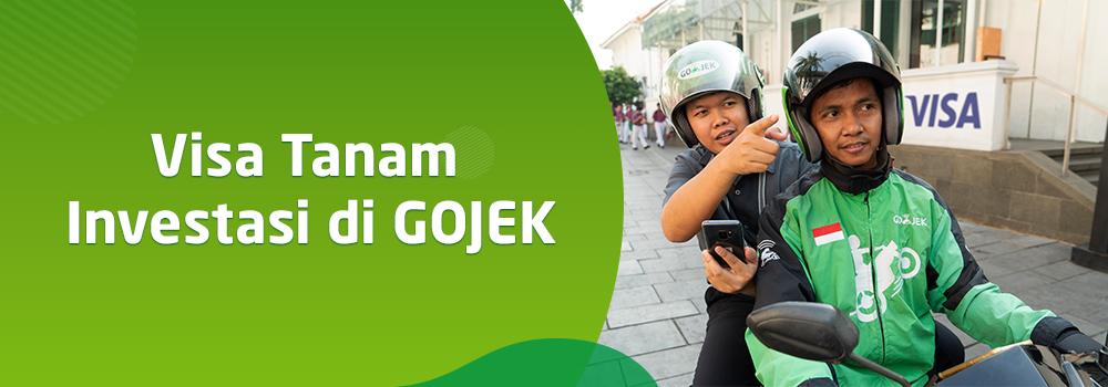 Visa Investasi di GOJEK, Berkolaborasi dalam Memajukan Sistem Pembayaran Digital di Asia Tenggara