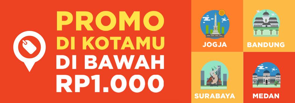 Beli Penawaran Terbaik GO-DEALS, Harga Di Bawah Rp1.000!