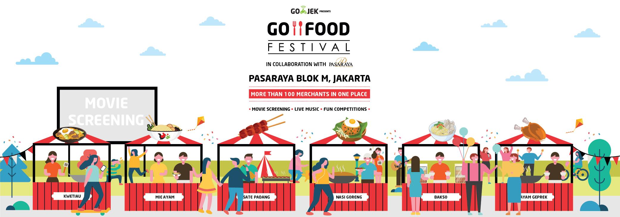 GO-FOOD FESTIVAL 2018 Hadir Kembali