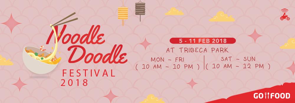 Saatnya Pesta Mie di Noodle Doodle Festival 2018
