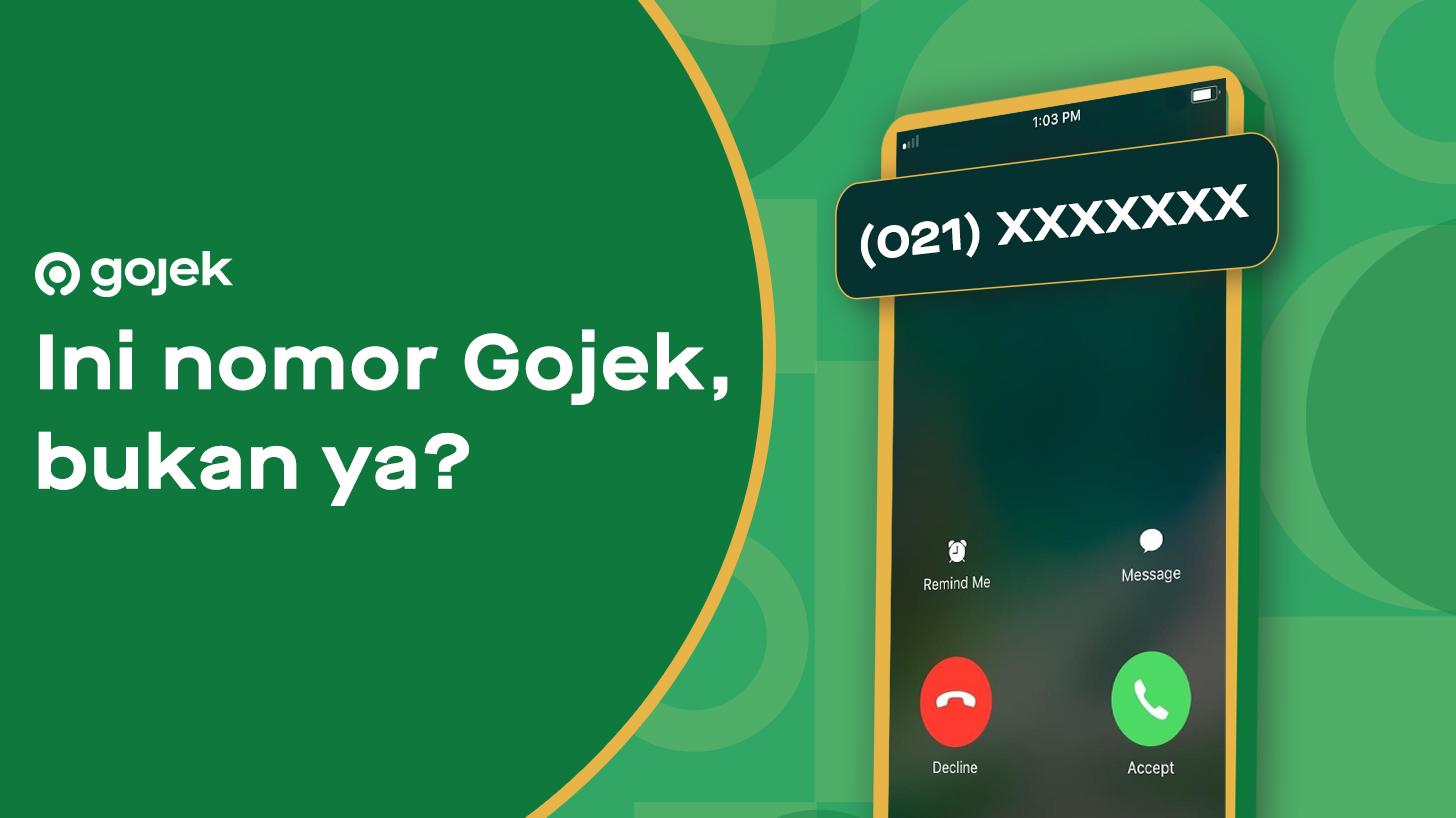Benar 021 80643104 Dan 021 50849090 Itu Nomor Telepon Resmi Dari Gojek Gojek