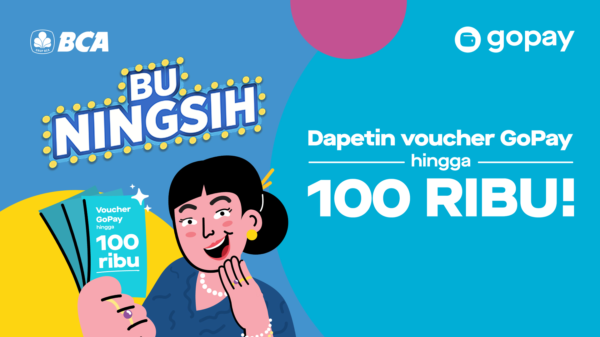 Promo Bca Voucher Total Senilai Rp 100 000 Gopay