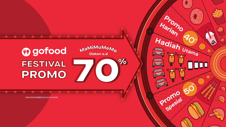 Festival Promo Mamimumemo Diskon Hingga 70 Gofood