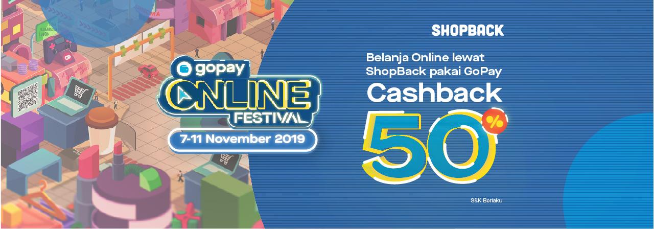 Belanja Online 11 11 Lewat Shopback Bisa Dapet Voucher Cashback Gopay Gopay