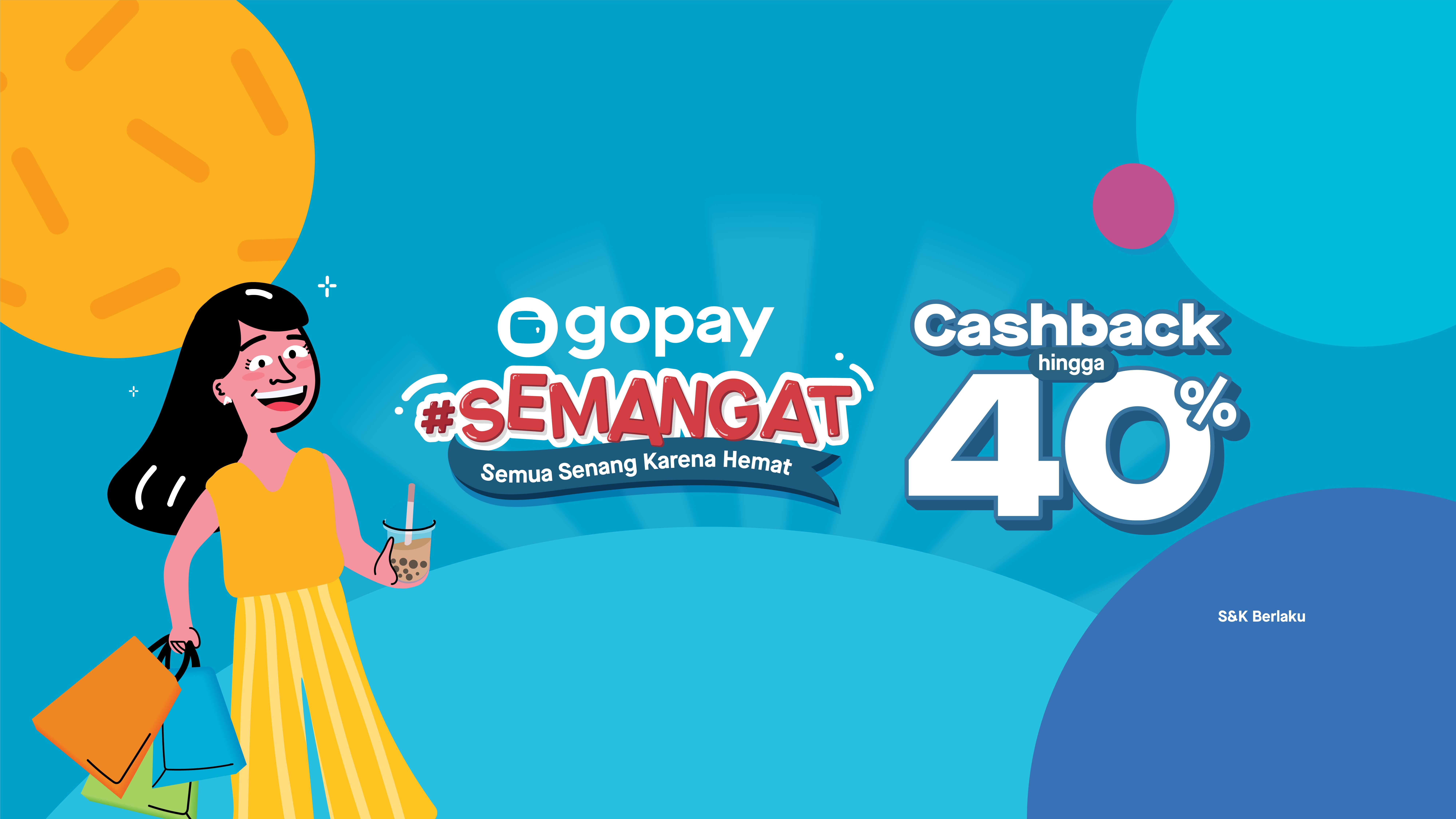 Promo Semangat Hari Ini November 2019 Cashback Hingga 40 Gopay