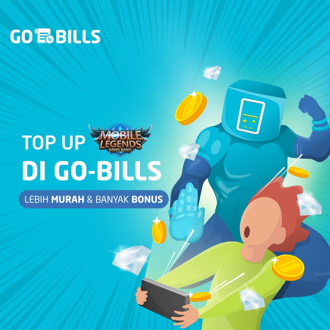 Top Up Mobile Legends Pakai Go Bills Lebih Mudah Dan Gak Ribet Gopay