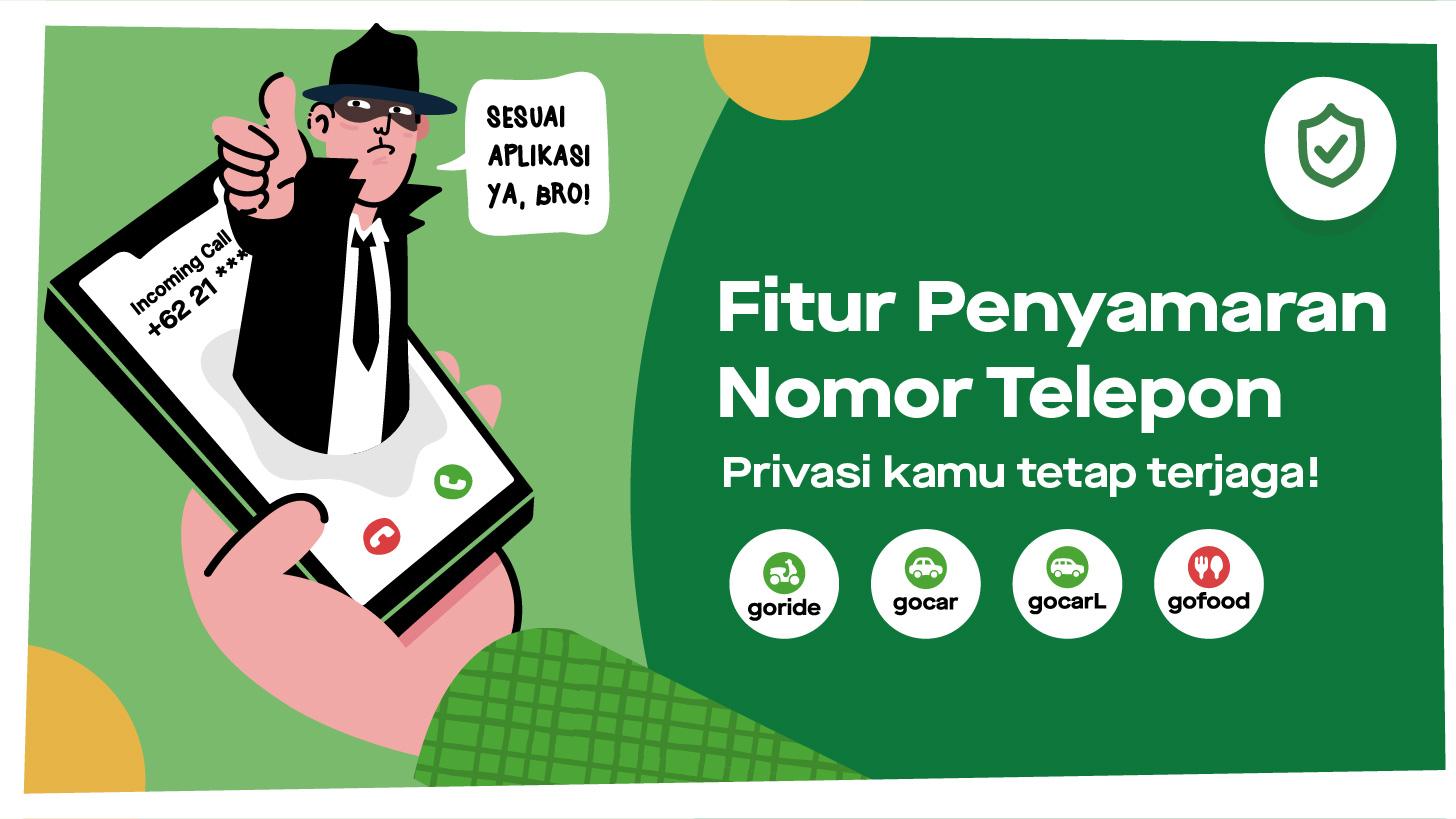 Memperkenalkan Fitur Penyamaran Nomor Telepon Untuk Keamanan Bersama Gojek